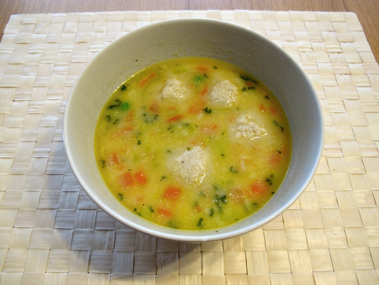polévka z candáta