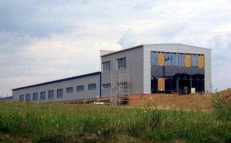 Výstavba dvoupodlažní budovy
