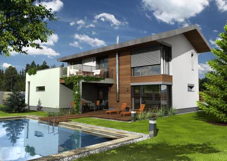 rodinný dům Hoffmann Lime 20