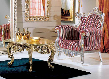 italský rustikální nábytek