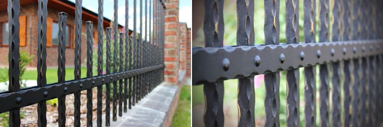 kované ploty Lamark