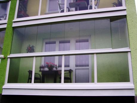 kvalitní zasklívání balkónů