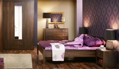V ložnici Ingido je radost usínat i vstávat.