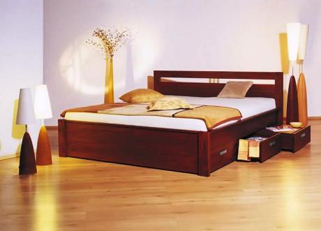 Manželská postel Konstantina - masiv borovice
