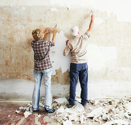 Jak nejrychleji oskrabat zed