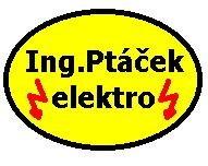 Ptáček elektro logo