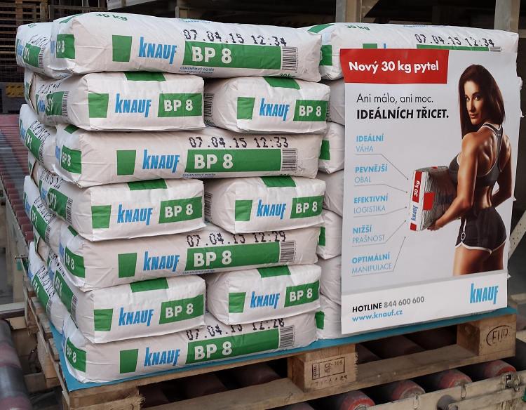30 kg pytle z produkce Knauf