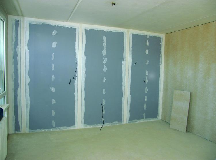 rekonstrukce bytu - Rigips