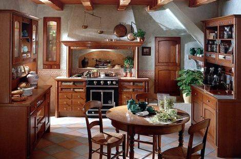 Tajemství půvabu rustikální kuchyně