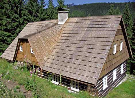 Šindel střecha