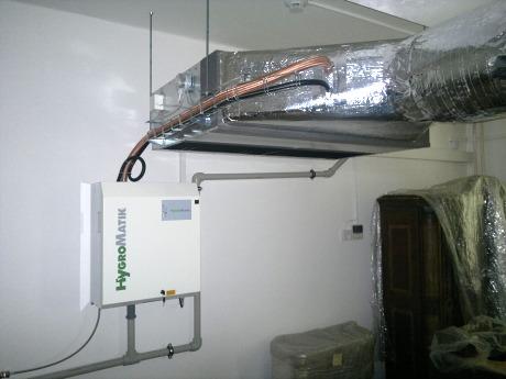 Centrální klimatizace do domu