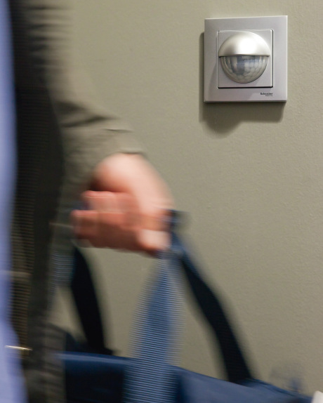 Detektor pohybu v designu Merten