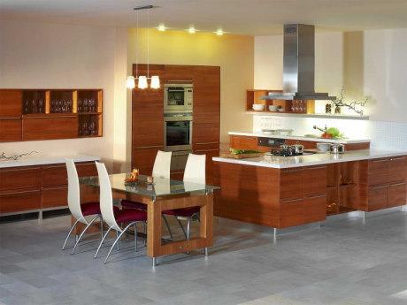 zásady zařízení kuchyně
