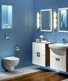 Světlo nad zrcadlo koupelna