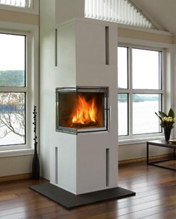 Krbová kamna pro nízkoenergetické domy