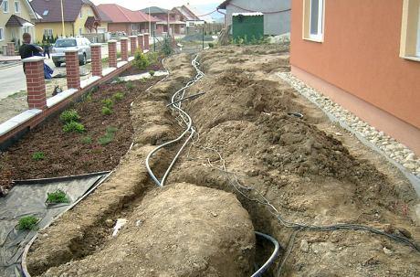 Zavlažovací systém do skleníku