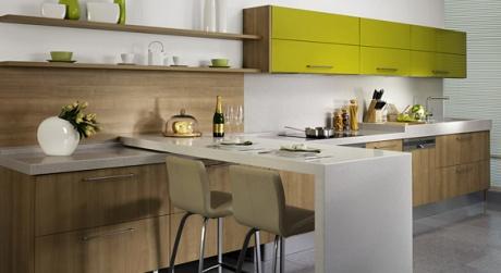 Oddělení kuchyně od obývacího pokoje