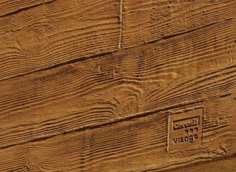 Fasádní omítka ceresit visage dekor dřeva