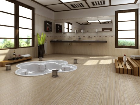 Moderne podlahy do obyvacky