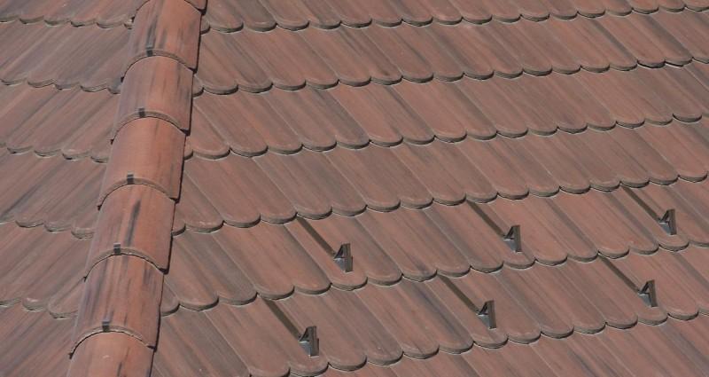 Mediterran - betonové střechy