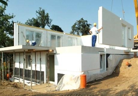 Domy z betonových panelů