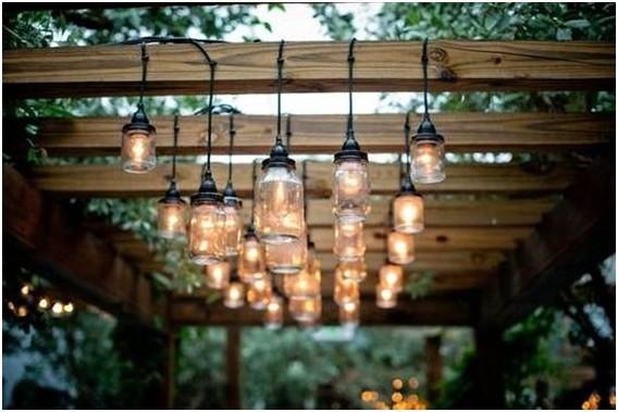 Osvětlení pergoly