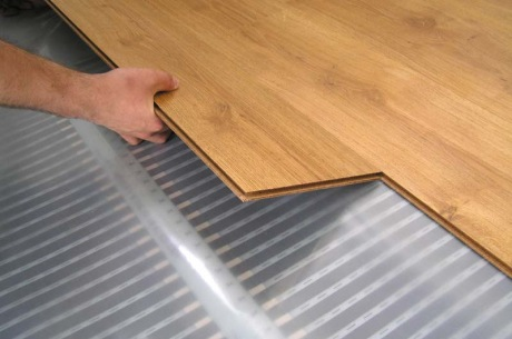 Plovoucí podlaha do ložnice