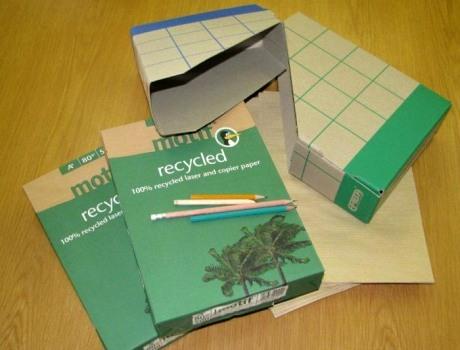 Recyklovaný papír
