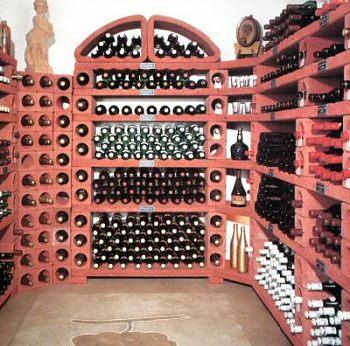 Regálové systémy na víno