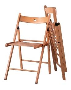 Variabilní stolování aneb skládací židle a stoly | Bydlení pro každého