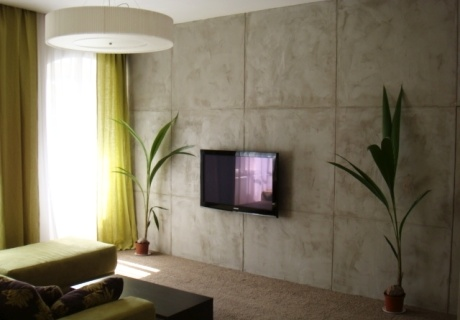 Imitace betonu postup
