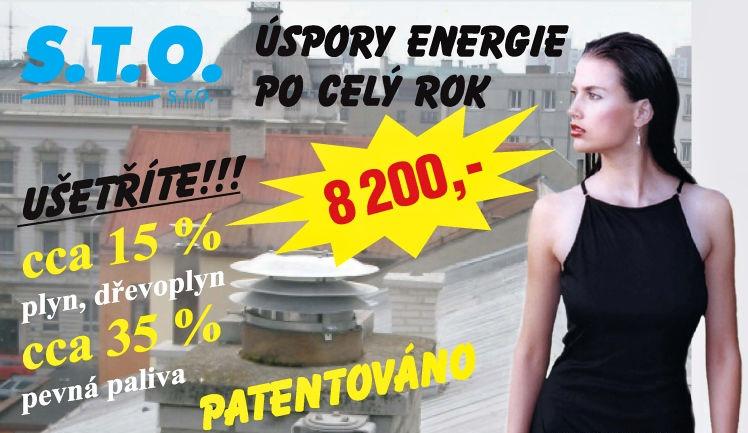 Sto - úspory energie