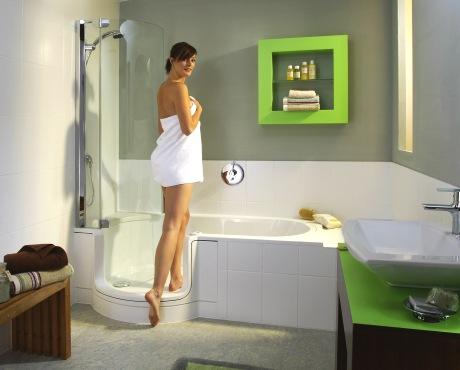 Vana do sprchového koutu