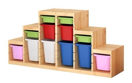 Ikea boxy na hračky